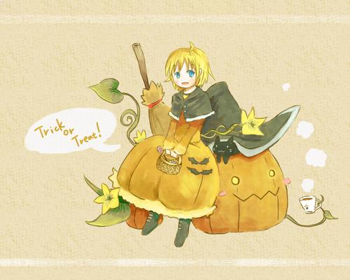 かぼちゃの魔女